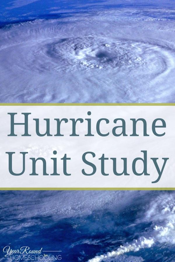 Hurricane Unit Study - By Selena