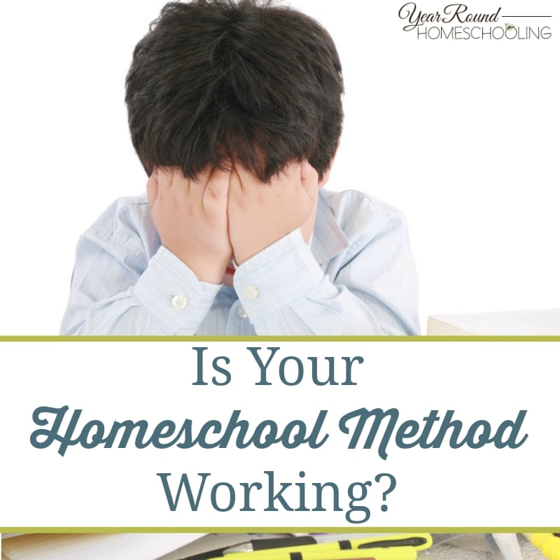 Is Your Homeschool Method Working?