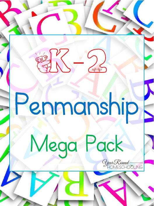 Free K-2 Penmanship Mega Pack