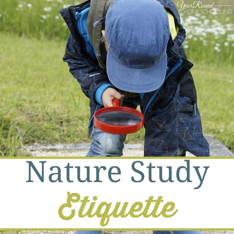 Nature Study Etiquette
