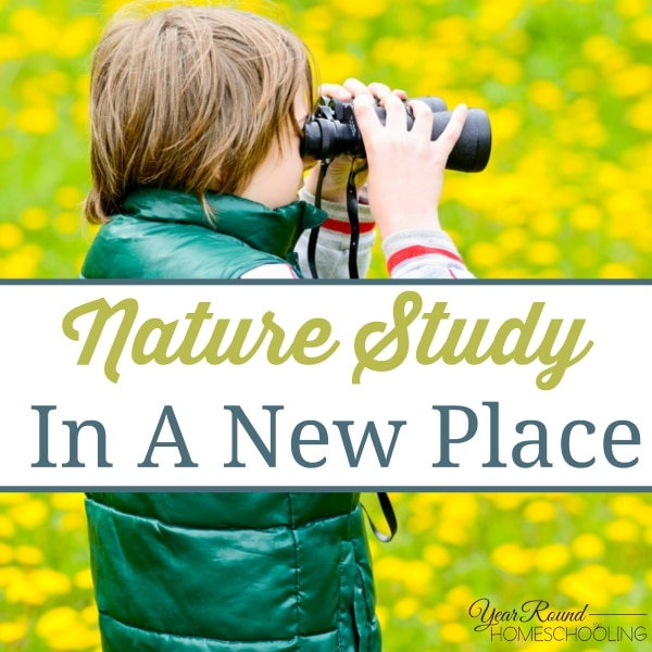 Nature Study In A New Place