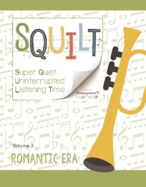 SQUILT+Romantic+Era