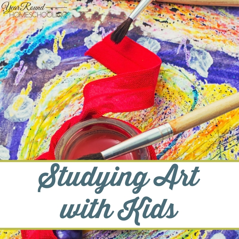 Studying Art with Kids