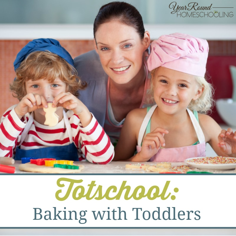 Totschool: Baking with Toddlers