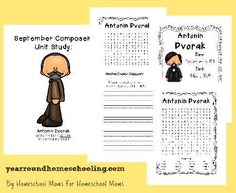 Composer Music Study: Dvorak