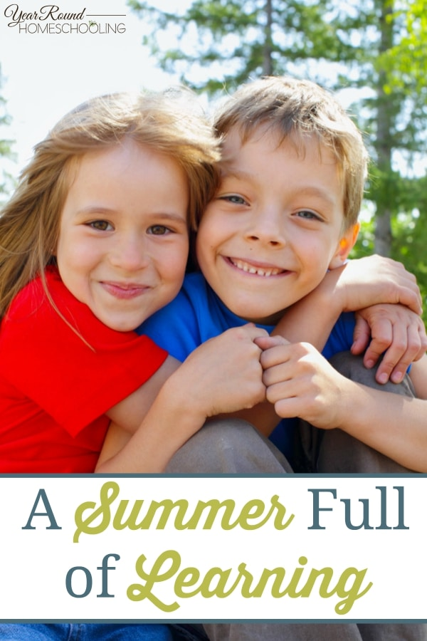 A Summer Full of Learning - By Misty Leask