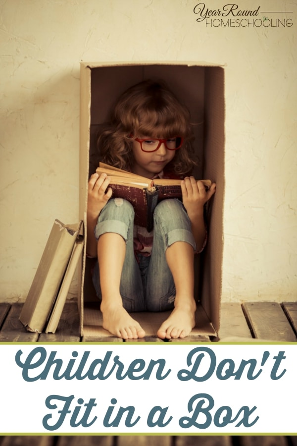 Children Don't Fit in a Box - By Misty Leask