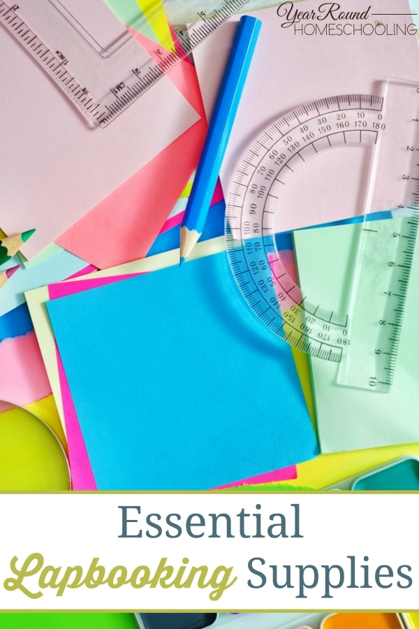Essential Lapbooking Supplies - By Sara