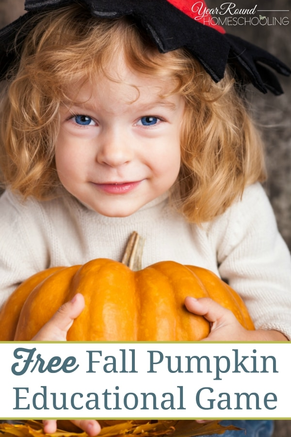 Fall Pumpkin Educational Game - By Alecia