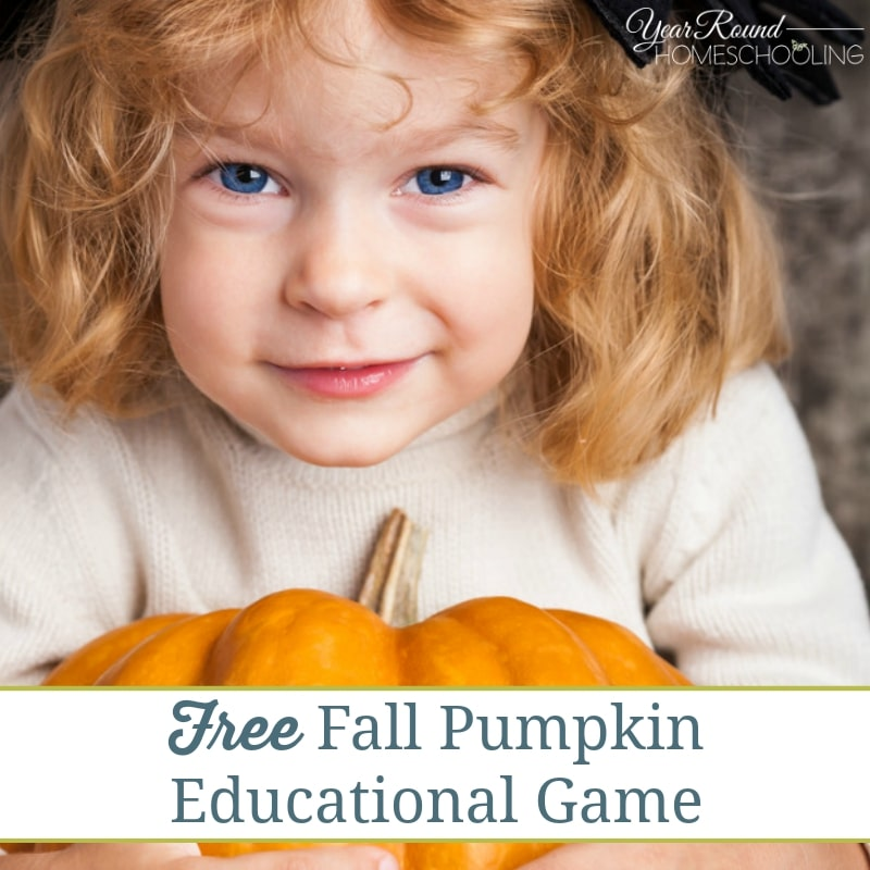 Fall Pumpkin Educational Game