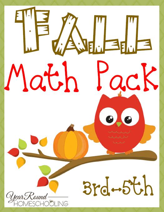 Free Fall Math Pack (3rd-5th)