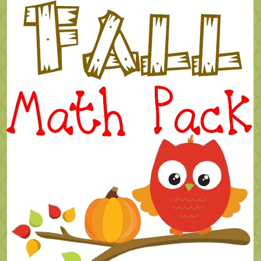 Fall Math Pack (3rd-5th)
