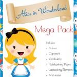 Free Alice in Wonderland Mega Pack - By Year Round Homeschooling