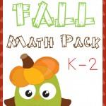 Free Fall Math Pack (K-2)