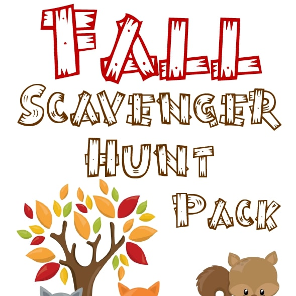 Fall Scavenger Hunt Pack