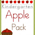 Free Kindergarten Apple Pack
