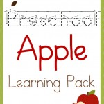 Free Preschool Apple Learning Pack