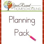 Free Year Round Homeschooling Planning Pack October 2015