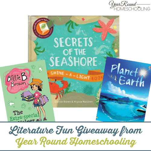 Create Your Own Literature Based Unit Studies + Literature Fun Giveaway