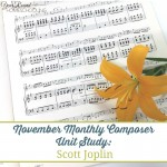 November Monthly Composer Unit: Scott Joplin