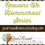 Reasons We Homeschool Series