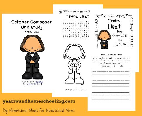 Composer Music Study: Franz Liszt