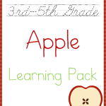 Free 3rd-5th Grade Apple Learning Pack