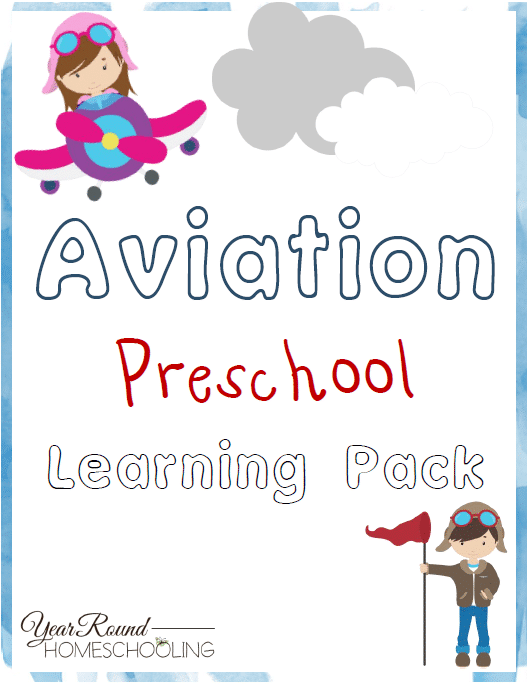 Free Aviation Preschool Learning Pack
