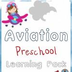 Free Aviation Preschool Learning Pack