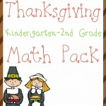 Free Thanksgiving Math Pack (K-2)