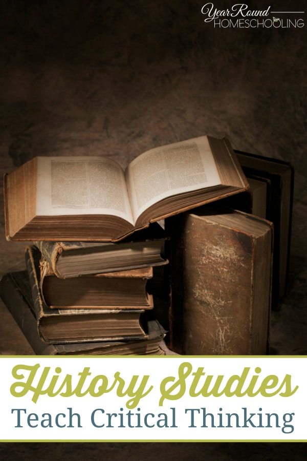 History Studies Teach Critical Thinking - By Joelle
