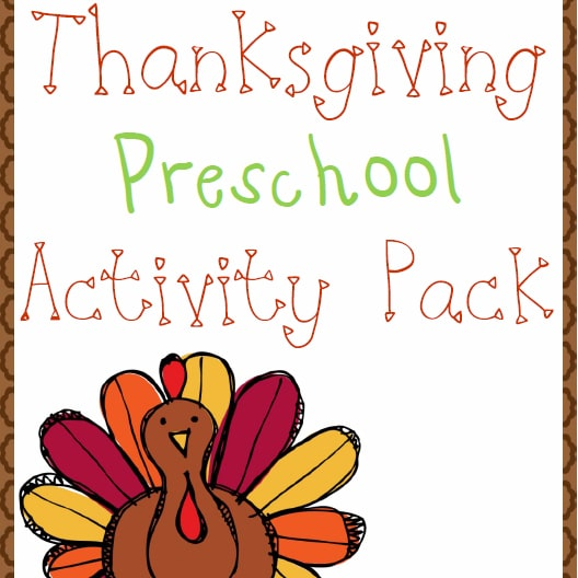 Thanksgiving Preschool Fun Pack