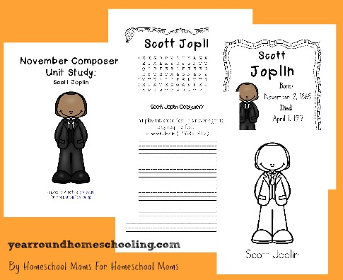 Composer Music Study: Scott Joplin