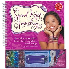 Klutz Spool Knit Jewelry Kit