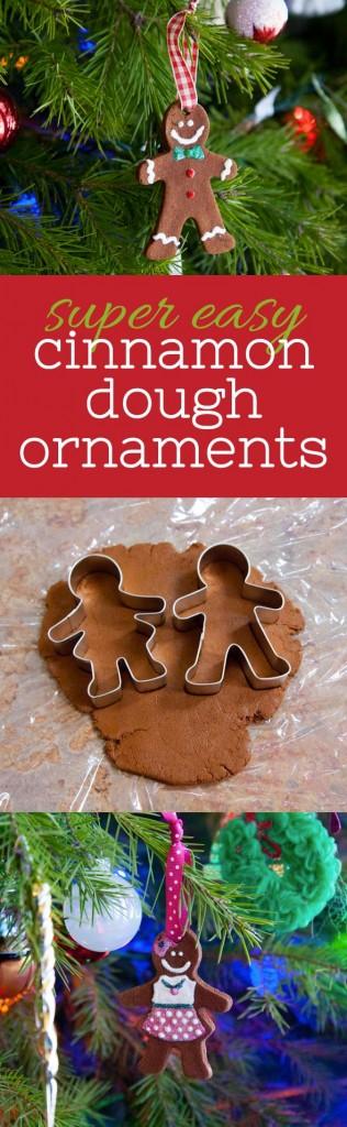Super Easy Homemade Cinnamon Ornaments