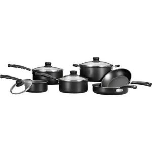 Mainstays 10-Piece Non-stick Cookware Set