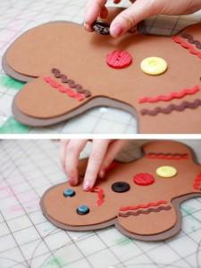 Gingerbread Man Tote