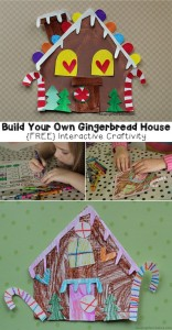 Build Your Own Creative Gingerbread House