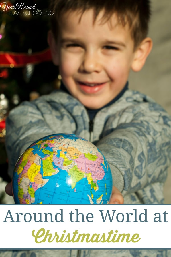 Around the World at Christmastime - By Misty Leask