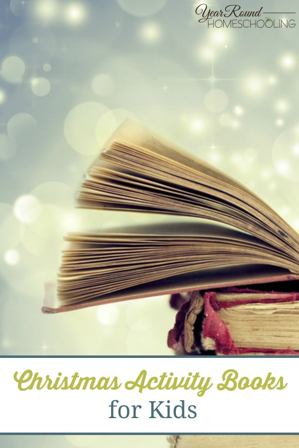 Christmas Activity Books for Kids - By Misty Leask