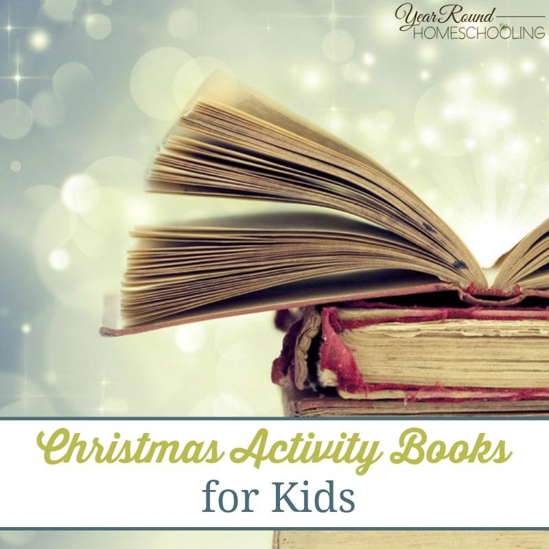 Christmas Activity Books for Kids