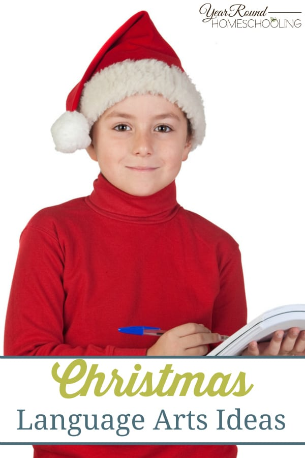 Christmas Language Arts Ideas - By Jennifer H.
