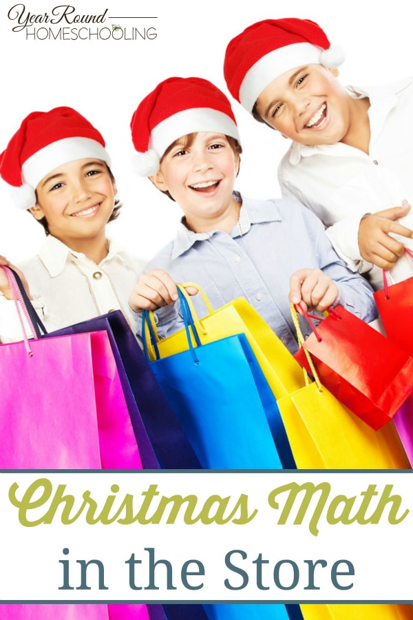 Christmas Math in the Store - By Misty Leask