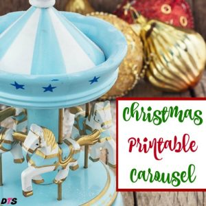 Christmas Printable Carousel