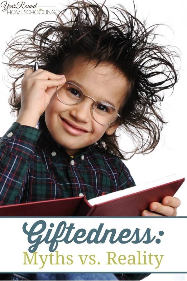 Giftedness - Myths vs. Reality - By Caitlin