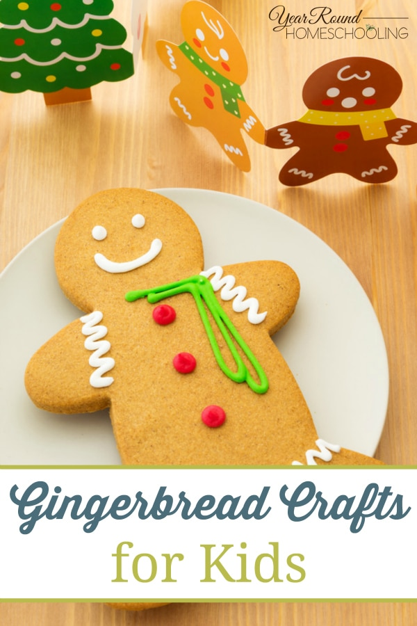 Gingerbread Crafts for Kids - By Misty Leask