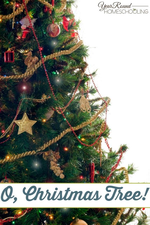 O, Christmas Tree - By Beth