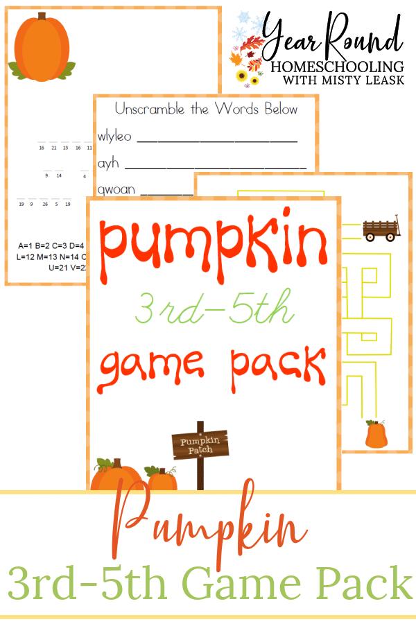 pumpkin game pack, pumpkin 3rd-5th game pack, pumpkin 3rd-5th pack, 3rd-5th pumpkin game pack, elementary pumpkin game pack, pumpkin elementary game pack