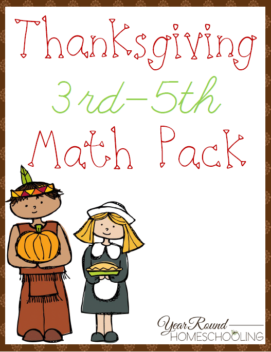 Number Names Worksheets free thanksgiving math worksheets : Thanksgiving35Cover.png