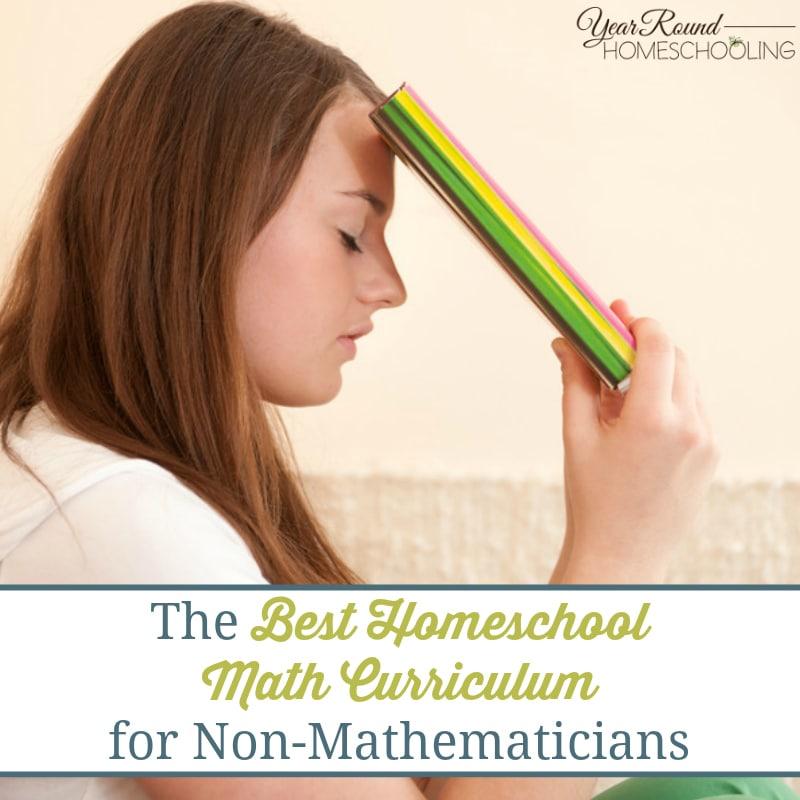 The Best Homeschool Math Curriculum for Non-Mathematicians